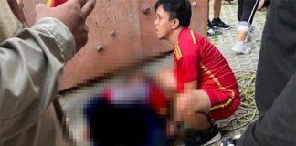 Mulyadi Alimuddin Atlet Panjat Tebing Usai Terjatuh Dari Ketinggian. (Int)