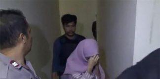 Pasangan Mesum Yang Berhasil Diamankan Oleh Pihak Kepolisian Saat Razia Hotel. (Int)