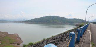 Kondisini bendungan bili-bili, Kabupaten Gowa. (Foto: ist).