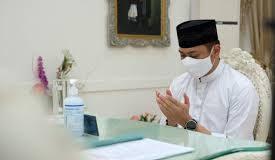 Bupati Gowa, Adnan Purichta Ichsa menggelar zikir bersama. (foto: berita.news/Putri)