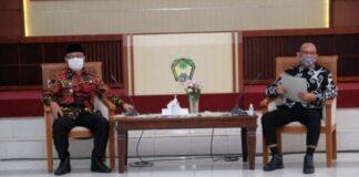 Kunjunga Anggota DPD RI Ajiep Padindang ke Kabupaten Gowa. (Foto: berita.news/Putri).