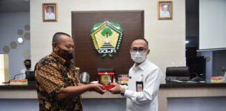 DPRD Kabupaten Sidrap saat berkunjung ke Kabupaten Gowa. (Foto: berita.news/ist).