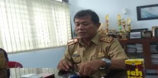 Kepala Seksi Pembangunan Jalan Dinas PUPR Gowa, Rusdiyanto. (Foto: Berita.news/Putri)