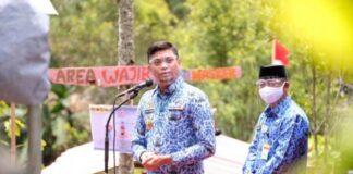 Kunjungan kerja Bupati dan Wakil Bupati Gowa ke Kecamatan Tombolopao dan Tinggimoncong. (Foto: berita.news/ist).