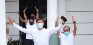 Rabu Sehat Pemkab Gowa. (Foto: Berita.news/Putri).