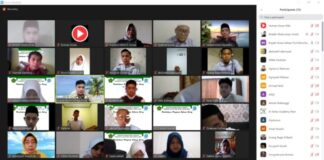 Bupati Gowa, Adnan Purichta Ichsan saat memotivasi siswa-siswi MAN IC Gowa. (Foto: berita.news/Putri).
