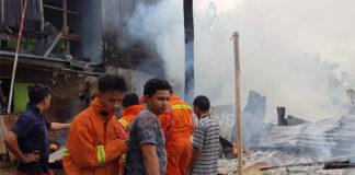 Kondisi Rumah Warga Setelah Api Berhasil Dipadamkan. (Berita.News/Bayu)