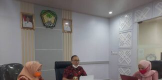 Sekretaris Kabupaten Gowa, Muchlis. (Foto: Berita.news/Putri)