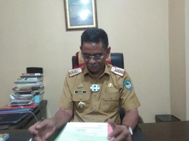 Kepala Dinas Pendidikan Kabupaten Gowa, Dr Salam. (Foto: berita.news/Putri).