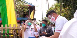 Kunjungan Kerja Pemerintah Kabupaten (Pemkab) Gowa bersama jajaran Forkopimda Kabupaten Gowa di Kecamatan Tompobulu dan Kecamatan Biringbulu. (Foto: berita.news/ist)