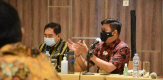Rapat Teknis Penyelesaian Lahan PT Perkebunan Nusantara (PTPN) XIV yang berlokasi di Kabupaten Gowa dan Takalar. (Foto: berita.news/ist)
