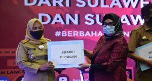 Pemerintah Kabupaten (Pemkab) Gowa berhasil meraih penghargaan terbaik I (Pertama) Wajah Bahasa. (Foto: berita.news/Putri).