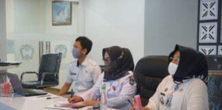 High Level Meeting Tim Pengendali Inflasi Daerah (TPID) di Baruga Karaeng Pattingalloang, Kantor Bupati Gowa. (Foto: berita.news/ist).