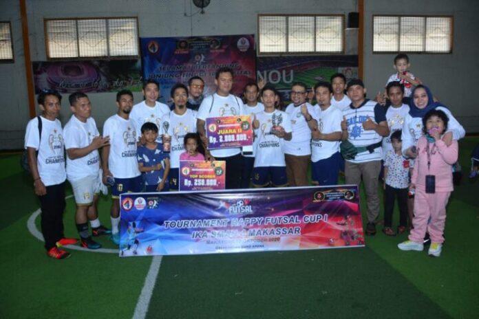 Tournamen futsal IKA SMAN 4 Alumni 2003. (Foto: berita.news/ist).