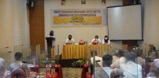 Rapat Koordinasi Kerjasama Lintas Sektor Administrasi di Hotel Continent Makassar. (Foto: berita.news/Putri).