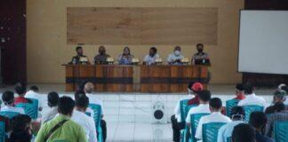 Dinas Tanaman Pangan dan Holtikultura Kabupaten Gowa menggelar Sosialisasi penggunaan Pupuk Bersubsidi. (Foto: berita.news/Putri).