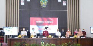 Peringatan Hari Jadi Gowa ke-700 tahun di Gedung DPRD Kabupaten Gowa. (Foto: berita.news/Putri).