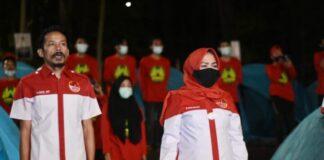 Jambore AMP Chapter VIII Tahun 2020 yang berlangsung di Puntiung, Desa Bissoloro, Kecamatan Bungaya.