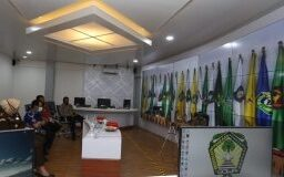 Rapat Koordinasi (Rakor) Analisa dan Evaluasi Pelaksanaan Kampanye Pemilihan Kepala Daerah (Pilkada) Serentak Tahun 2020 secara virtual. (Foto: berita news/Putri).