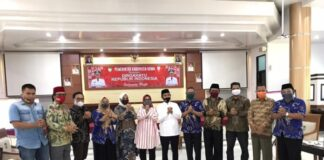 Silaturahmi DPP Kerukunan Keluarga Bulukumba bersama Wakil Bupati Gowa, Abd Rauf Malaganni. (Foto: berita.news/ist).