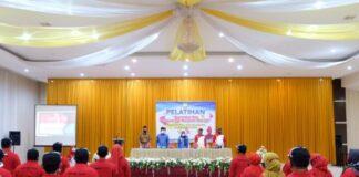 Pelatihan Peningkatan Mutu Organisasi dan Manajemen Olahraga.l (Foto: berita.news/Putri).