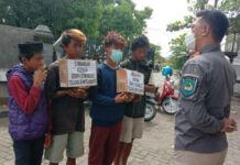 Empat Pelaku Penipuan Bermodus Sumbangan Gempa Mamuju
