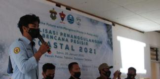 Kegiatan COASTAL HMTK UNHAS Sosialisasi Penanggulangan Bencana Pesisi. (Dok. HMTK UNHAS).