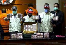 Barang Bukti Hasil OTT (Operasi Tangkap Tangan) oleh KPK