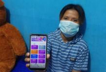 Member TikTok Cash warga Gowa, Nurhayati. (Foto: Kabar.News)