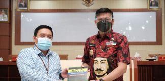 Koordinasi Renaksi Pencegahan Korupsi KPK RI Korwil VIII di Baruga Karaeng Galesong Kantor Bupati Gowa. (Foto: berita.news/Putri).