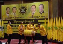 Ketua DPD 1 Golkar Sulsel Taufan Pawe.