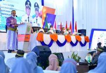 Plt Gubernur Andi Sudirman di HUT Barru.