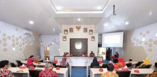 Kunjunga pemerintah Kota Bengkulu ke Kabupaten Gowa. (Foto: berita.news/Putri).