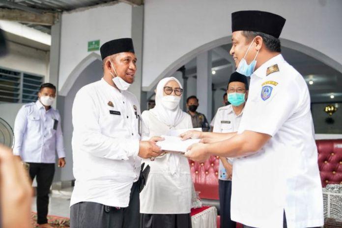 Peresmian Masjid di Gowa oleh Plt Gubernur Andi Sudirman Sulaiman (Dok).
