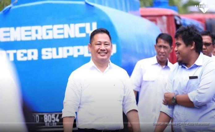 Direktur Utama Perusahaan Umum Daerah Air Minum (PDAM) Kota Makassar, Dr Hamzah Ahmad.