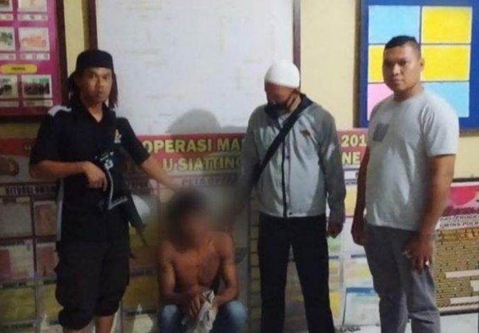 JU (40) pelaku pencabulan anak sendiri di Kabupaten Bone, Sulawesi Selatan