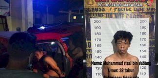 Pelaku Perampokan dan Pemerkosa Mahasiswi di Makassar