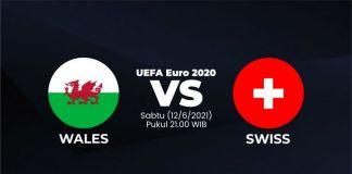 UEFA Euro 2020 Wales vs Swiss. (Foto: Berita.news/Mulawarman)